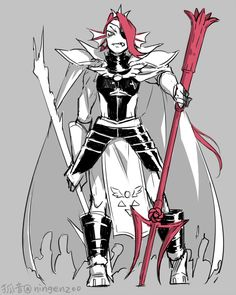 Queen Undyne we need more fanart of the characters as rulers of the underground