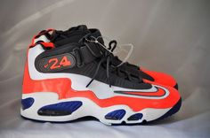 best loved 2eb9d 910cc Nike Air Griffey Max 1 Men s Training Shoes White Total Crimson-Hyper Blue  sz