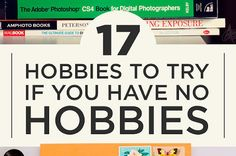 Nie masz hobby? Znajdź sobie hobby ;)  Pomysły podane na talerzu – wystarczy tylko spróbować :)