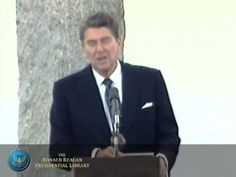 Normandy Speech: Ceremony Commemorating the Anniversary of the Normandy Invasion, D-Day ~ President Reagan's Address at the Ceremony Commemorating the Anniversary of the Normandy Invasion, D-day at Point-du-Hoc - Greatest Presidents, American Presidents, Teaching American History, Normandy Invasion, President Ronald Reagan, 40th Anniversary, D Day, God Bless America, World History