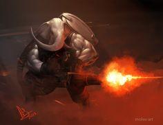 Gun-esha by molee.deviantart.com on @deviantART