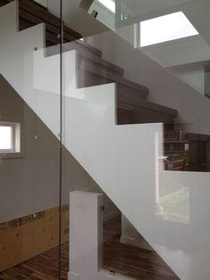 Modern Stair Design - Rectangle Design