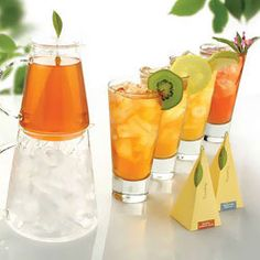 Ice Tea Infusers w/ Personalized label ... doesn't go with the theme that we are going with but very cute.