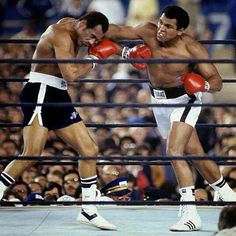 Ali vs Norton. Norton was fiercely strong.