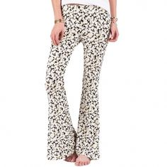 floral bell bottoms!