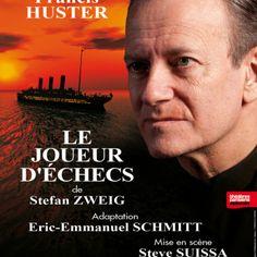 «LE JOUEUR D'ÉCHECS» de Stephan ZWEIG au Théâtre Rive Gauche (Paris)