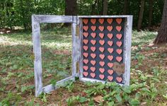 Rustic Wedding 3D Paper Shadow Box Heart Guest Book, Guest Book Alternative, Personalized Guest Book, Bridal Shower Gift