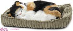 Peluches que respiran Perfect Petzzz- Peluche gato Calico www.disy.es