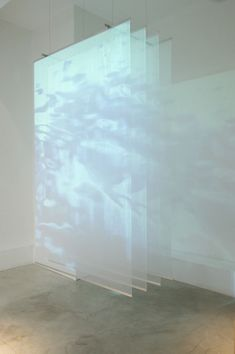 2016 Mixed media video installation Polyester, metal, video projector 152 x 244 x 60 cm Limited edition of 5 Light Art Installation, Installation Interactive, Interactive Art, Art Installations, Installation Architecture, Architecture Art, Instalation Art, Licht Box, Floating