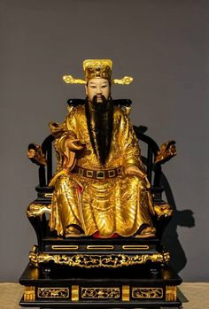 China, Samurai, Buddha, Statue, Pure Products, Kunst, Porcelain, Sculptures, Samurai Warrior