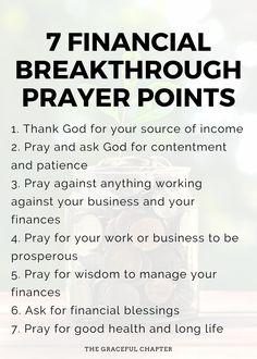Strength Prayer, Prayers For Strength, Faith Prayer, Power Of Prayer, Prayer Scriptures, Bible Prayers, Prayer Quotes, Prayer For Finances, Financial Prayers