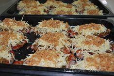 Filet z kurczaka pod pierzynką Health Dinner, Cauliflower, Dinner Recipes, Food And Drink, Meat, Chicken, Vegetables, Cos, Cooking