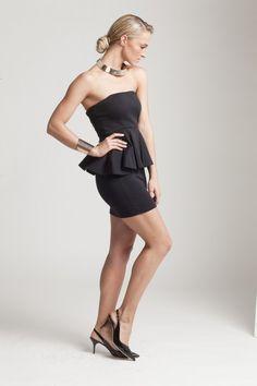 Melinda Bam Europa Art, Peplum Dress, Strapless Dress, South Africa, Dresses, Fashion, Strapless Gown, Vestidos, Moda