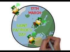 The Story Of Saint Patrick's Day - Animated Narration For Kids - YouTube