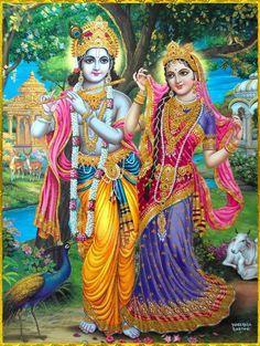 Radha and Krishna Lord Krishna Images, Radha Krishna Pictures, Radha Krishna Love, Krishna Photos, Shree Krishna, Radhe Krishna, Radha Rani, Hanuman Images, Krishna Avatar
