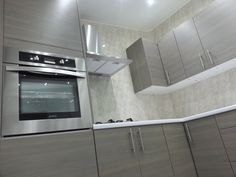 Everyone knows that PVC cladding panels are great for bathrooms and showers, but did you know that it can also be used in kitchens? Our cladding panels are perfect for use in kitchens as they are stain and dirt resistant as well as being class 1 fire rated.  There are also many colours and styles available to choose from so whatever the colour of your kitchen, we have the cladding to match it