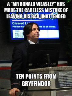 Air Snape strikes again