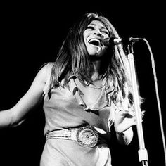 """Tina Turner - """"Proud Mary,"""" """"River Deep-Mountain High,"""" """"What's Love Got to Do With It"""" - Influenced Beyonce, Mick Jagger, Mary J. Blige http://www.rollingstone.com/music/lists/100-greatest-singers-of-all-time-19691231/tina-turner-19691231"""