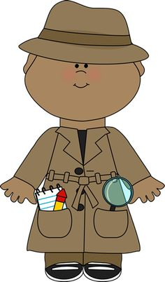 Image result for cartoon detective boy with magnifying glass ...