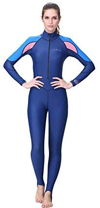 Buy A Point Full Body Cover Thin Wetsuit, Lycra UV Protection Dive Skin Suit for Scuba Diving for Men/Women Full Body Swimsuit, Swimsuit Cover, Women's Diving, Womens Wetsuit, Sleeve Designs, Catsuit, Snorkeling, Leotards, Swimsuits