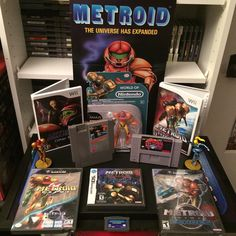hitmantommy: Just picked up the Zero Suit Samus Amiibo and got thinking I've never done a #serieswednesday for my Metroid games so here we are. I do have Metroid II and Fusion digitally at least until I find a good price for a physical copy. #amiibo #videogames #nintendo #nes #snes #retrogaming #retrocommunity #retrocollective #metroid #samus #samusaran #ds  #gamecube #wii #gaming #gba #gameboy #gameboy #microobbit