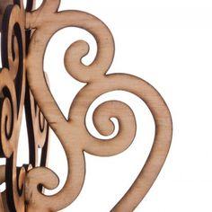 Scroll Design Wood Laser Cut Chandelier [403284-21983 Scroll Chandelier] : Wholesale Wedding Supplies, Discount Wedding Favors, Party Favors, and Bulk Event Supplies