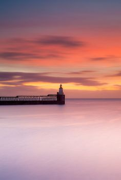 Dawning | A Pretty Sunrise At Blyth Harbour | Northumberland | Photo By Anita Nicholson