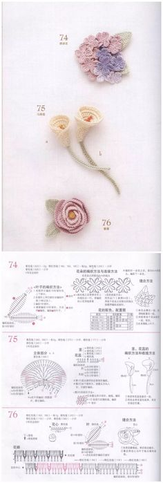 Watch The Video Splendid Crochet a Puff Flower Ideas. Wonderful Crochet a Puff Flower Ideas. Art Au Crochet, Crochet Puff Flower, Crochet Flower Tutorial, Crochet Diy, Crochet Motifs, Knitted Flowers, Crochet Flower Patterns, Love Crochet, Irish Crochet