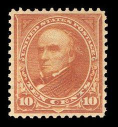 Sam Houston Philatelics has this item on Collectors Corner - Scott# 283a, 1898 10c Orange brown Type II, PSE VF-XF 85, Mint OGph