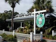 """Mullet Bay Restaurant.  Southern food on St. Simons Island, coastal Georgia.  Located in the """"Village"""", close to the beach and Neptune Park."""