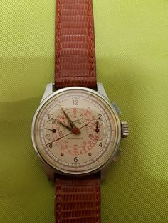 Eberhard Chronograph from the 1950s - Catawiki