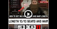 HOW TO GROW AND GET MAX BEARD AND HAIR LENGTH | RED DEAD REDEMPTION 2 | TUTORIAL GUIDE Long Natural Hair, Natural Hair Growth, Hair Length Guide, Beard Tips, How To Grow Your Hair Faster, Shave My Head, Red Dead Redemption, Hair Blog, Hair And Beard Styles