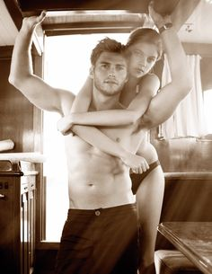 Clint Eastwood's son Scott Eastwood poses shirtless in sexy magazine shoot - NY Daily News Scott Eastwood, Ryan Gosling, Clint Eastwoods Son, Shooting Couple, Town And Country Magazine, Editorial, Photo Couple, Couple Shoot, Twilight Saga