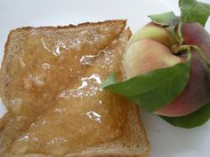 Peach Freezer Jam-Freshest Tasting Jam With No Canning! ~ http://www.southernplate.com