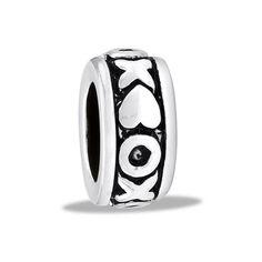 DaVinci Beads Small Silver XO Jewelry