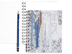 DIN A5 - Notizbuch - ein Designerstück von drucksachen bei DaWanda