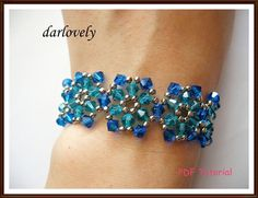 Flower Bracelet Tutorial