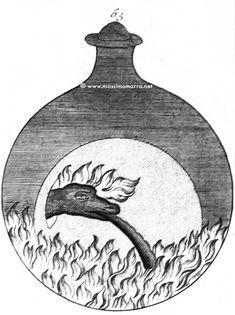 J. C. Barchusen, Sequenza simbolica da 'De Alchimia vel crysopoeia' (in 'Elementa Chemiae', 1718), Parte terza (Tavole 51-78) Barchusen,…