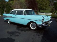 1957 Chevy; I have always wanted one of these, and I will always want one of these.  Fact.