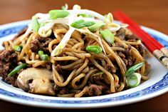 Ground beef (Recipe: Chinese