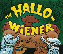 The Hallo-Wiener by Dav Pilkey. A totally funny Halloween book that kids love about a wiener dog who gets made fun of because he has to dress up as a hot dog for trick-or-treating! Read it and you'll relish it! Halloween Books For Kids, Halloween Stories, First Halloween, Halloween Pictures, Cute Halloween, Halloween Activities, Preschool Halloween, Halloween Ideas, Halloween Carnival