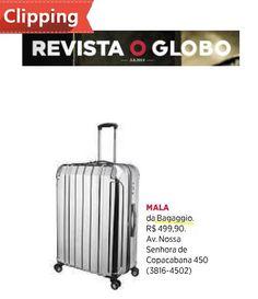 Sai na revista O Globo.