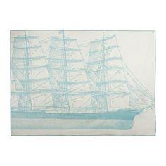 Thomas Paul maritime throw blanket