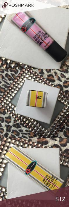 MAC Suntints Liquid Lip Balm SPF 20: Shade: Full of Grace: Natural finish: New in box. MAC Cosmetics Makeup Lip Balm & Gloss