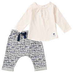 Girls' Top And Harem Pants Set
