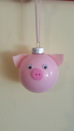These piggy ornaments are extremely special. When you purchase one of our handmade ornaments, 100% of the proceeds go towards Penelopes Purpose