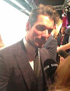 David Gandy at the ELLE Style Awards: A-list Instagrams | ELLE UK  - february 18, 2014