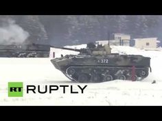 Russia: The BMD-4M put through EXTREMES by Airborne Forces - YouTube