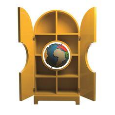 GLOBE cabinet (Gufram)   Design: Studio Job, 2014