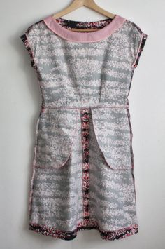 Nicole at Home: All-time favorite dress pattern, in stretch denim. Skilled seamstress. Good info on blog